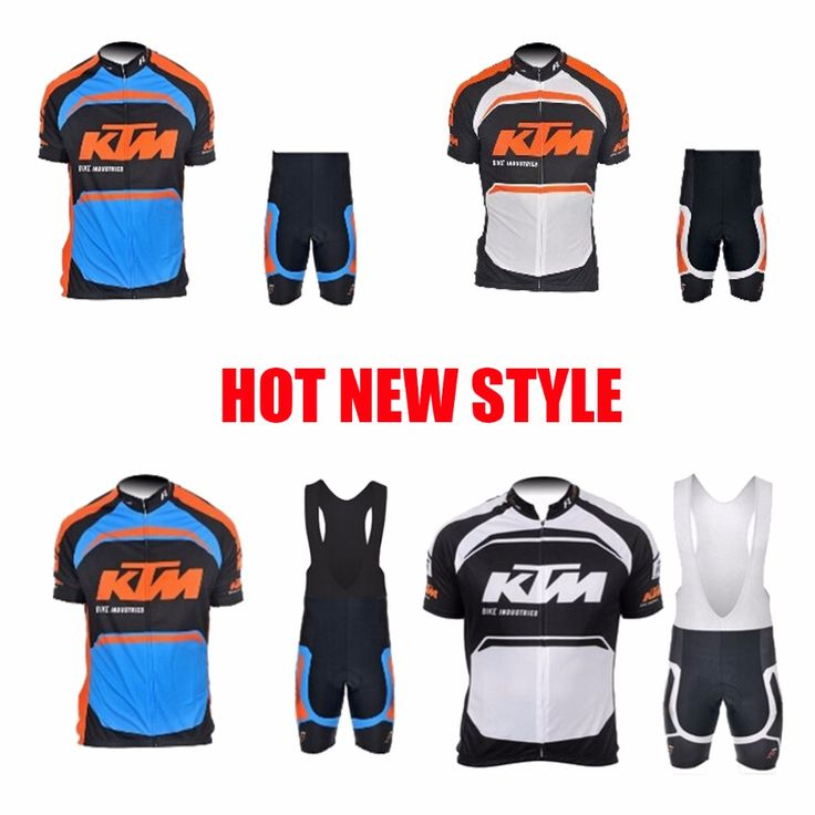 HOT KTM Bicycle Jerseys roupas de ciclismo bicycle cycling clothing Breathable men's sportwear mtb Hot new for free shipping