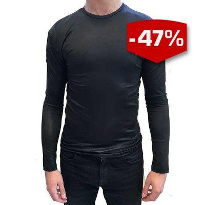 THW Rashguard Long Sleeve standard i svart.
