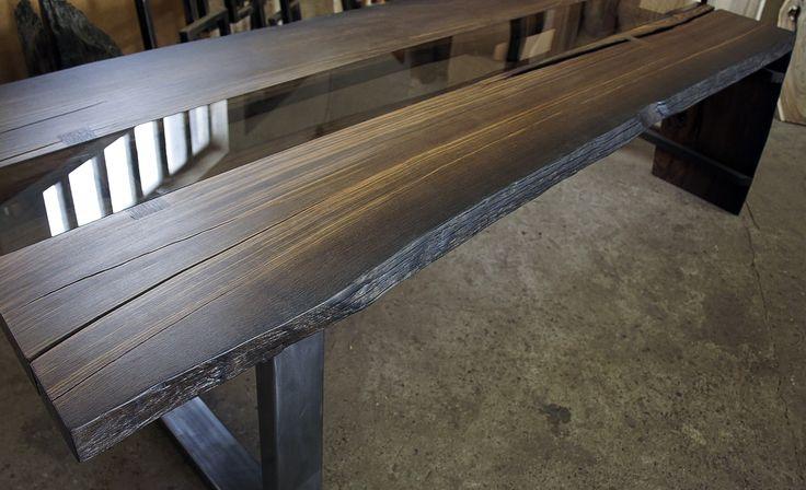 79 best images about bog oak table mooreiche tisch morta for Tisch design wood