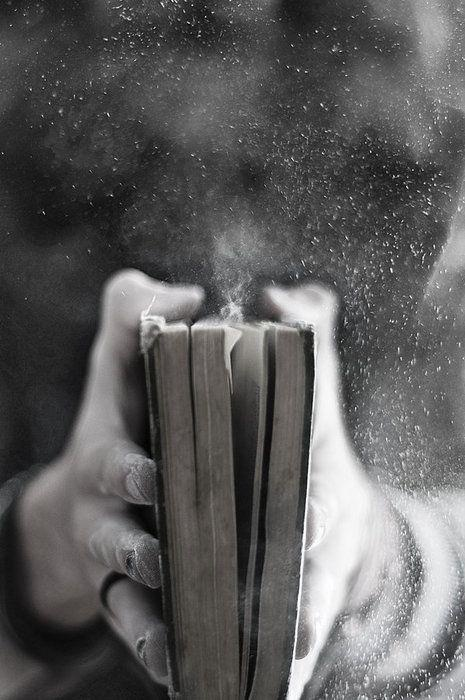 Dusty old book