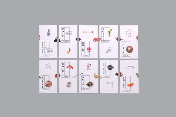 Koiki Eatery branding.