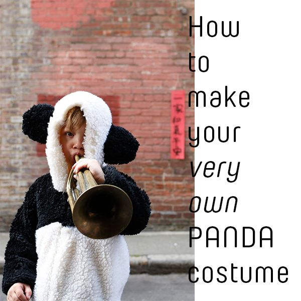 DIY Panda Costume | studio t