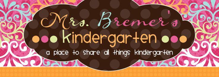 Mrs. Bremer's Kindergarten: ...More Hot Ideas