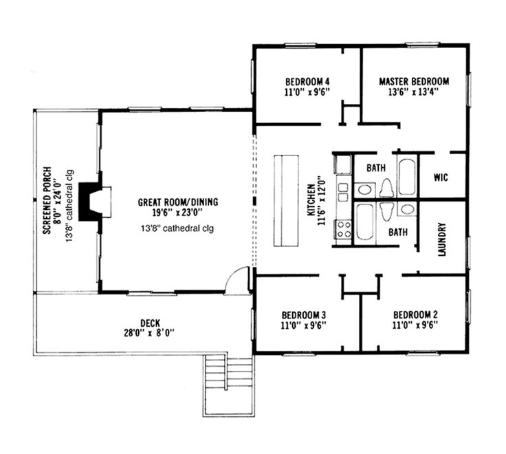 Replace master wic with ensuite change hall baths to What is wic in a floor plan