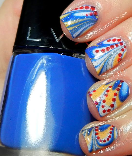 92 best autism awareness nail art images on pinterest nail art autism awareness month mani with lvx nail polish check out thepolishobsessed for prinsesfo Choice Image