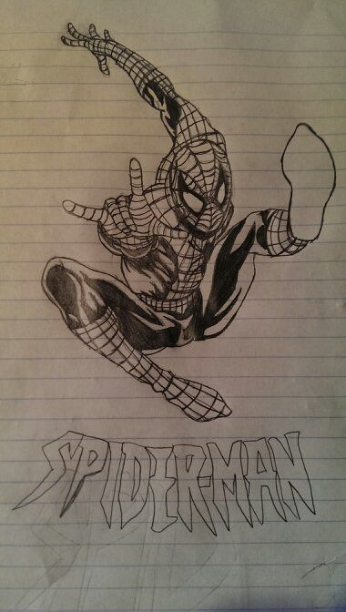 Spder-Man by PaciFizzyBinky1418.deviantart.com on @DeviantArt