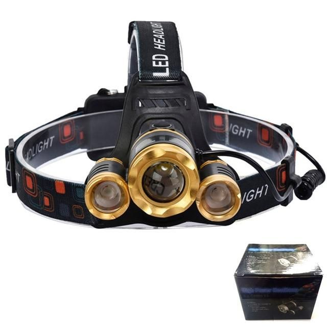 The Sturdy And Simple Litwood 15000lm Led T6 Headlamp Boasts A