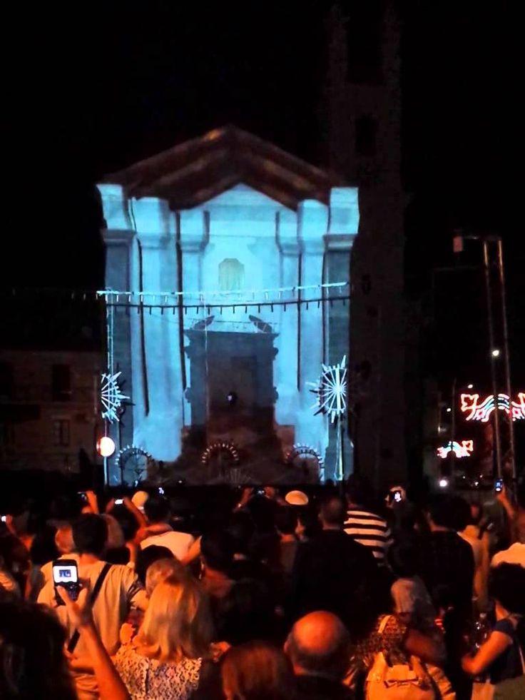 Projection mapping 3d San Lorenzo a Sant'Agata Li Battiati