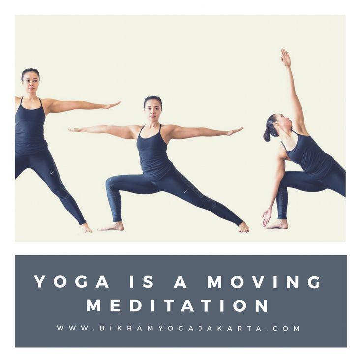 Yoga is a moving meditation @yogajakarta. Yoga42 Bikram Yoga jakarta