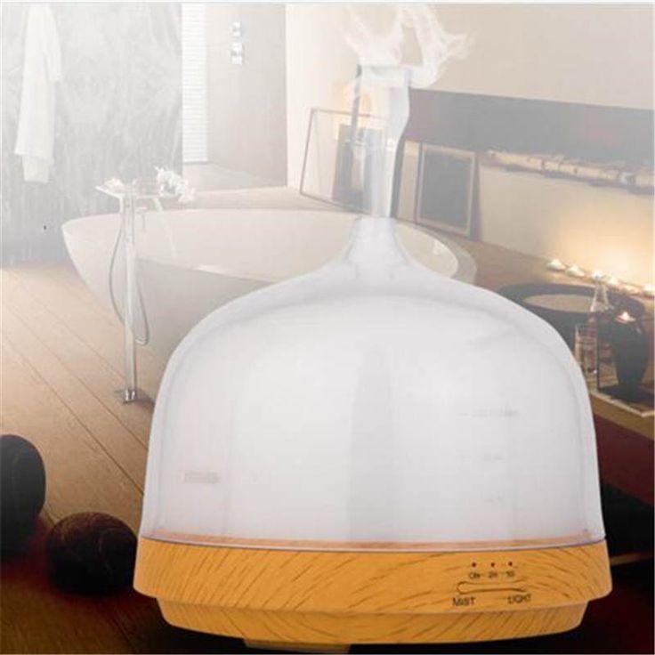 Ultrasonic humidifier aromatherapy ionizer anion atomizer 200ml diffuser humidifier mist maker essential oil diffuser aroma lamp