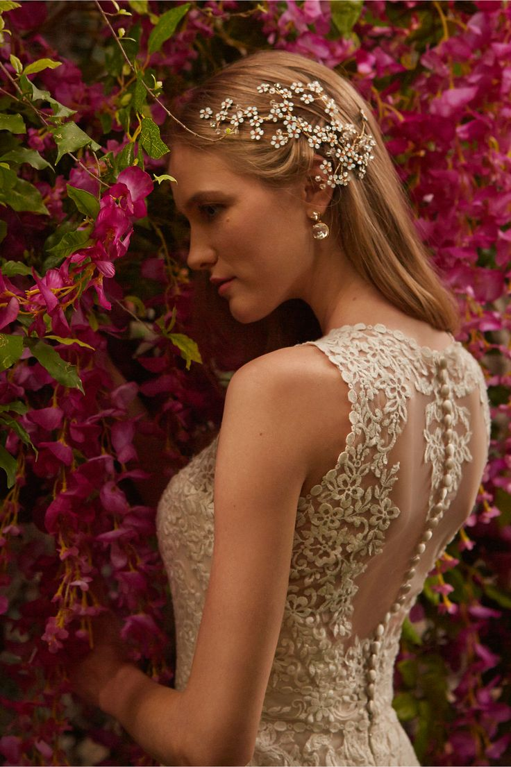 Br Bridal Headpieces Twigs And Honey - Bhldn s spring 2015 wedding dress collection is predictably swoon worthy crazyforus