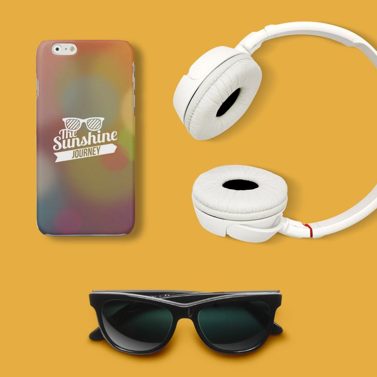 #Cover #Case #headphones #thesunshine #sunglasses  http://www.creatink.com/product/iphone-cover-case/the-sunshine-journey/