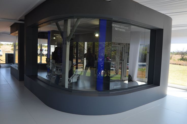 Scania at Gerotek Test Facilities - Boardroom in ground floor of Double Decker Marquee - OCT 2016