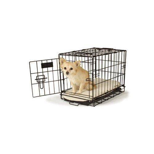 "Petco Classic 1-Door Dog Crate 19"" L x 12"" W x 14"" H X-Small Black"