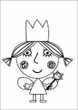 Malebog. Tegninger Ben og Hollys lille Kingdom12