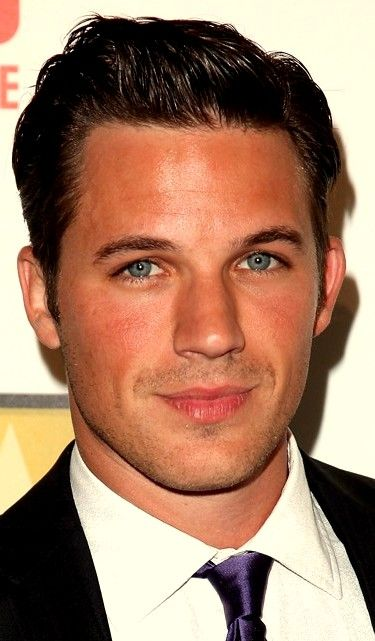Matt Lanter - I'm pretty sure I have a thing for dark hair and blue eyed men! I'm loving Star-Crossed!