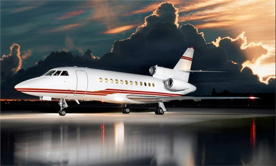 Dassault Falcon 900B For Sale by Globalair.com , via Behance