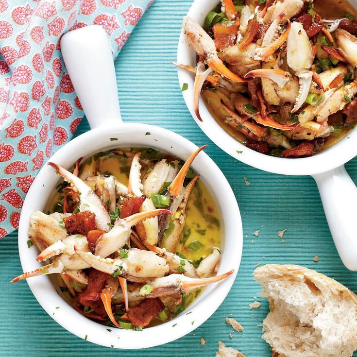 Smoky, Buttery Crab Claws - 39 Mouth-Watering Crab Recipes - Coastal Living