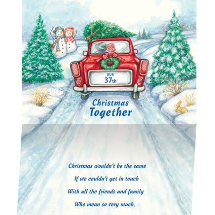 christmas card record book by miles kimball