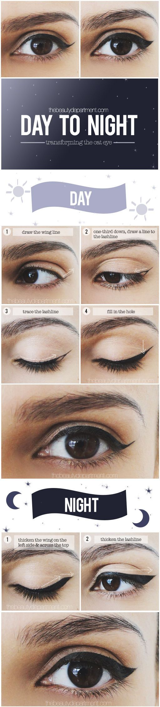25+ best ideas about Cat eyeliner tutorial on Pinterest ...