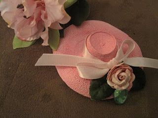 How to make Mini hats made from Styrofoam cups.