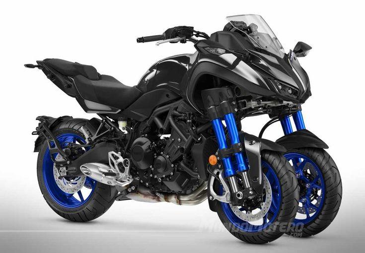 Yamaha Niken motos de tres ruedas