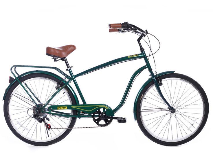 Cruiser/Verde Vintage también estará disponible desde el 12 de octubre en gamabikes.com ¿Buscas una compañera de viaje? ¡Aquí tiene una! #ciclismo #bicicleta #gamabikes #nuevatemporadagama