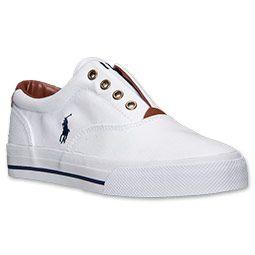 Women\u0027s Polo Ralph Lauren Marine Casual Shoes | FinishLine.com | White