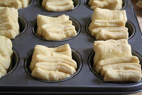 Il faut vraiment s'appeler Martha Stewart  pour trouver un nom aussi... imagé pour décrire ces petits pains de la famille des dinner rolls  ...