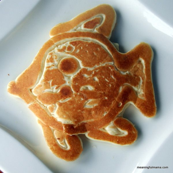 Silly Pancakes - Learn how to make pancake in a variety of shapes.