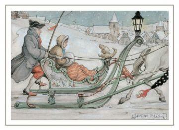 Arreslee; illustratie Anton Pieck