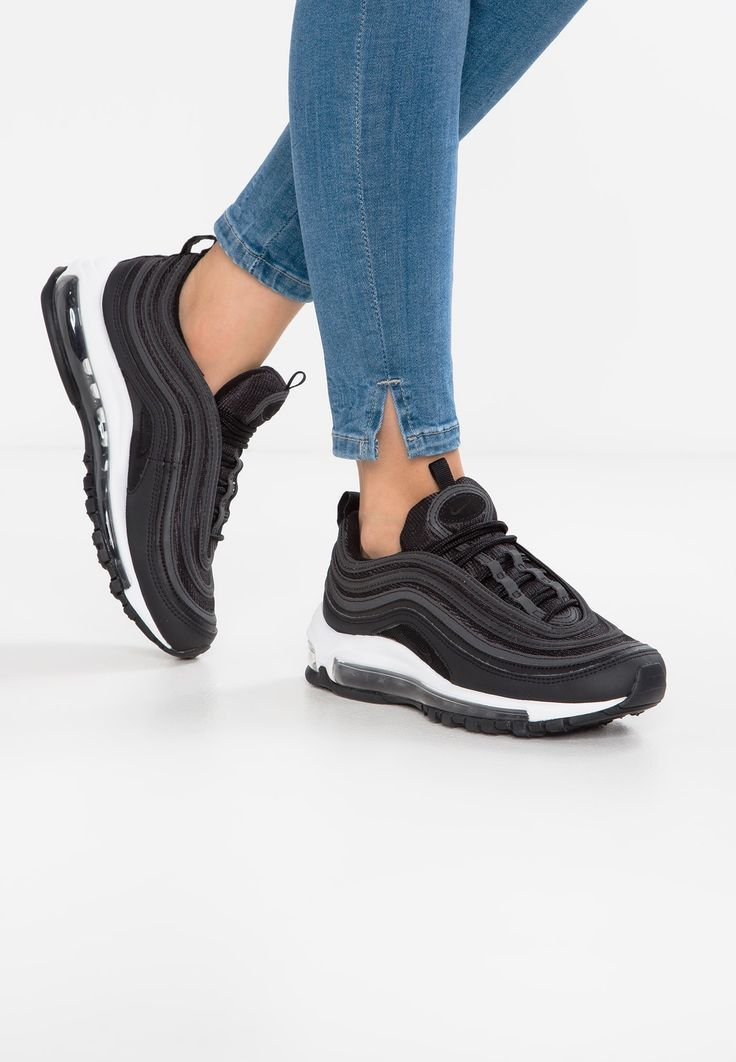 NIKE AIR MAX 97 - Sneaker low - black/dark grey @ Zalando.de ...