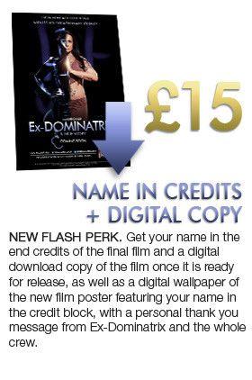 Ex-DOMINATRIX A True Story - Film completion funds | Indiegogo