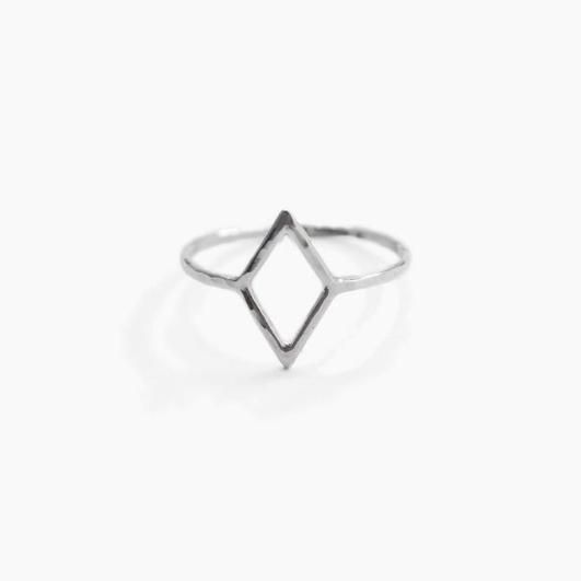 A whole new take on a diamond ring