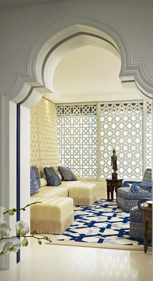 Geoffrey Bradfield Luxury Interior Design Moroccan