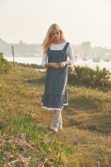 Стильный сарафан в  стиле кантри, архивный стиль в одежде всегда в моде