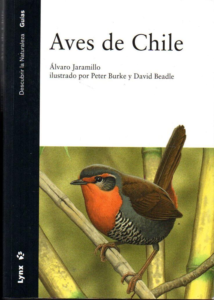 Aves de Chile. Alvaro Jaramillo