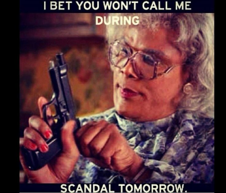 Don't Call me Scandal Is On