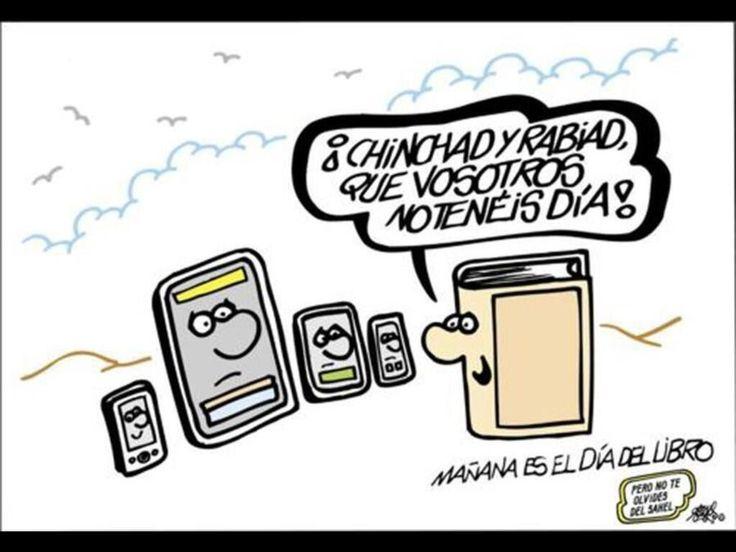 Vosotros no tenéis día ... Libros vs smartphones