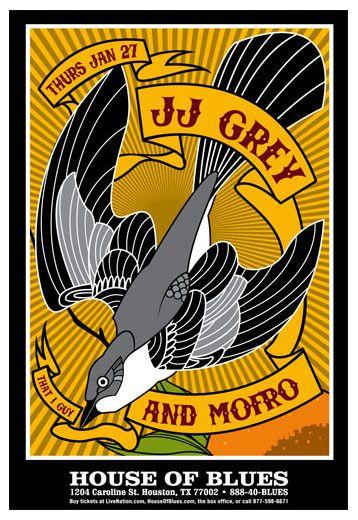Scrojo JJ Grey and Mofro Poster