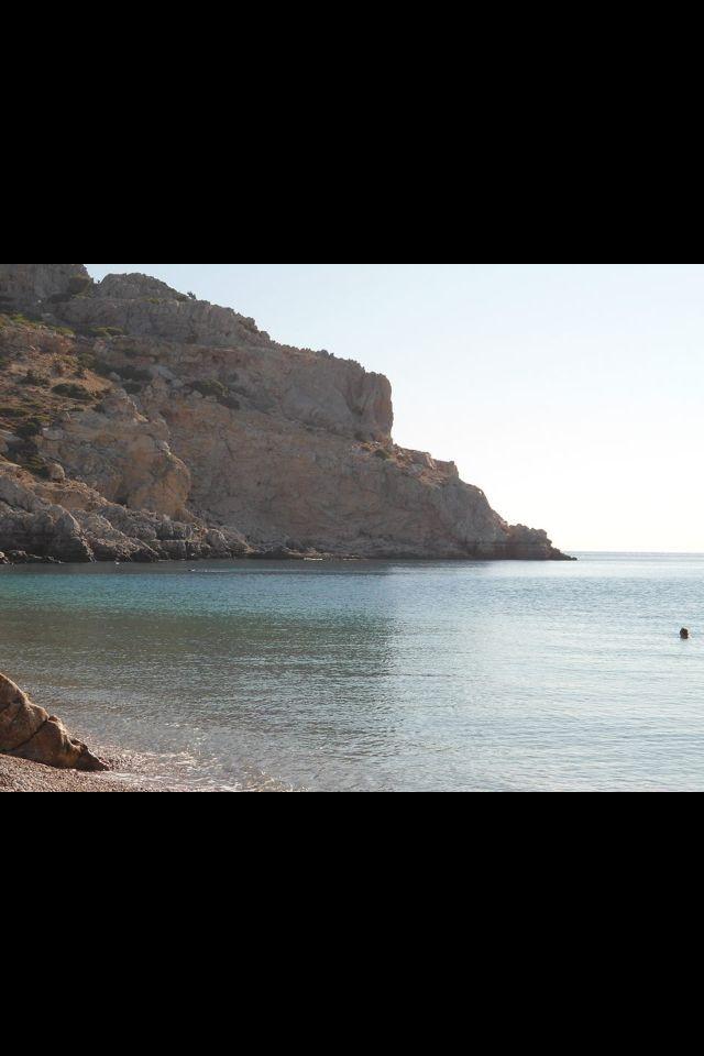 Traganou beach