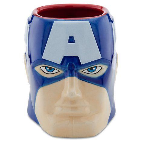 Tazza 3D Marvel, Capitan America