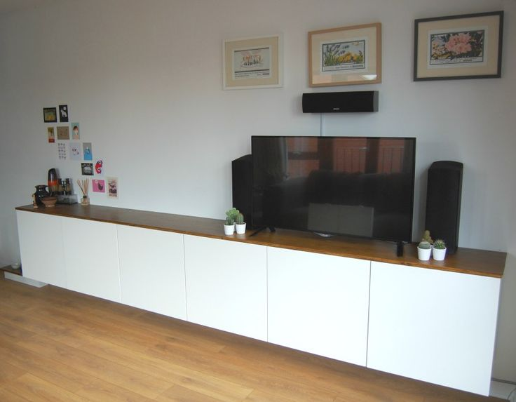 http://smallspacepeople.com/projects/ikea-sideboard-hack/