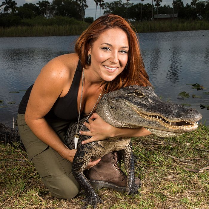 Why Alligator Handler Ashley Lawrence Has the Best Job in the World - SELF
