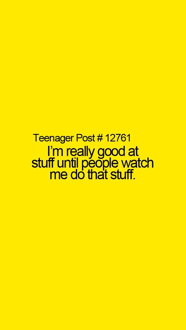 Teenager post. For me 10% of the time when I say watch this in volleyball I fail the other 90% I just fail and nobody sees.