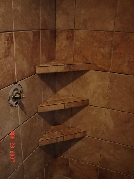 tileshowerswithbenchandshelves or you can use