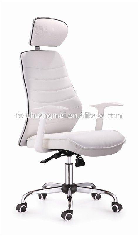 office chair white leather. wholesale ergonomic white leather office chair high back with headrest cm029e h