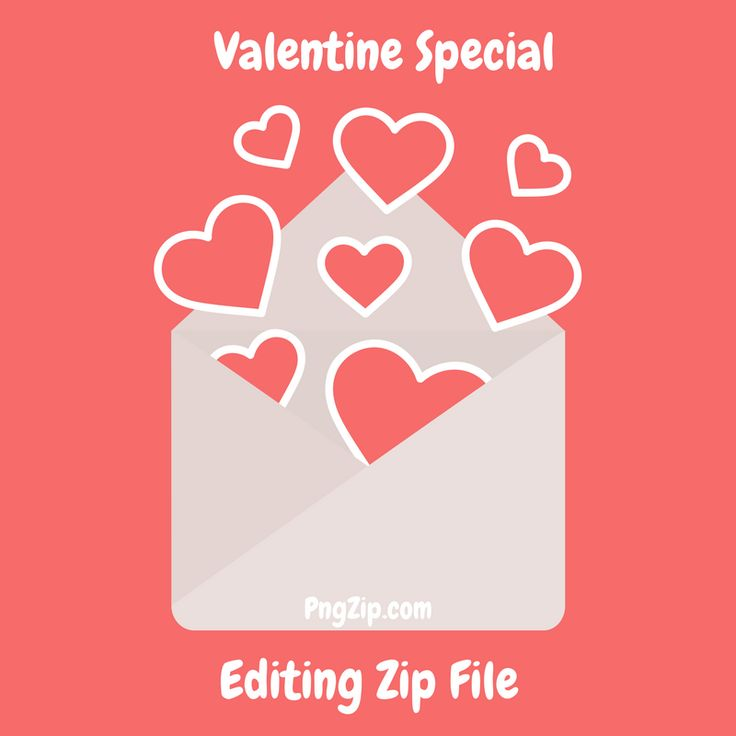 HD valentine day editing png