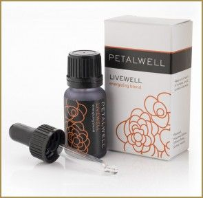 Livewell – the vitality blend. Hello #Sunshine! This #energizing blend was created to #uplift, #rejuvenate and #revitalize. #Breathe in the zingy blend of Pink #Grapefruit & #Black #Spruce and prepare to #positively sparkle. #petalwell