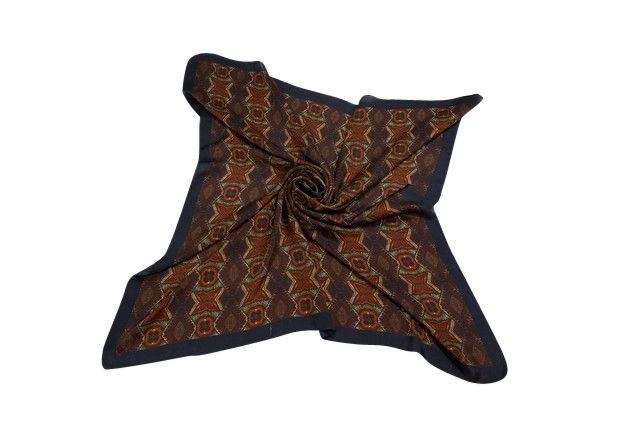 Silk scarf made from spiritual healing painting